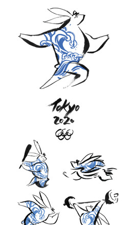 Olympic mascot cover