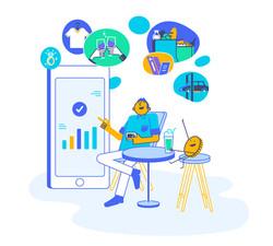 Finanda web first illustration