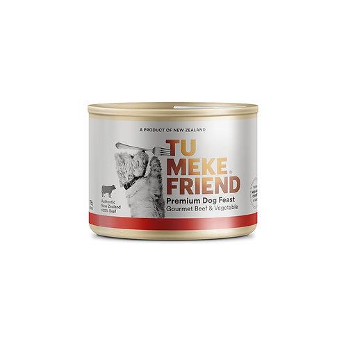 TuMeke Friend 圖米其 Gourmet Beef & Vegetable 高級狗濕糧(牛及蔬菜)