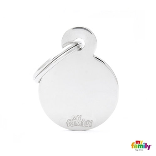 MyFamily Pet Tags Basic Chrome