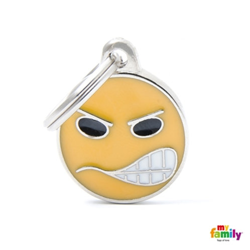 ID TAG EMOTICON ANGRY