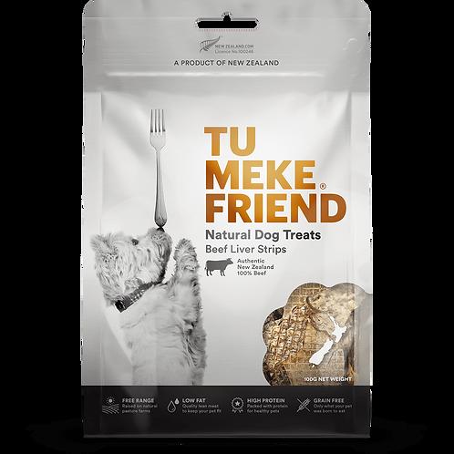 TuMeke Friend 圖米其 Beef Liver Strips 高級狗小食(全牛肝)