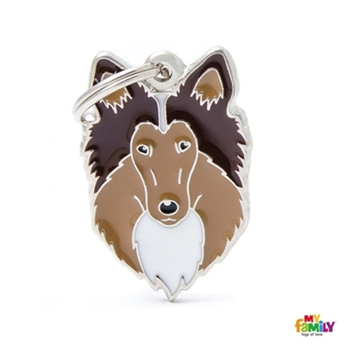 COLLIE DOG TAG