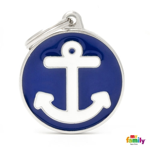 ID TAG BIG CIRCLE ANCHOR