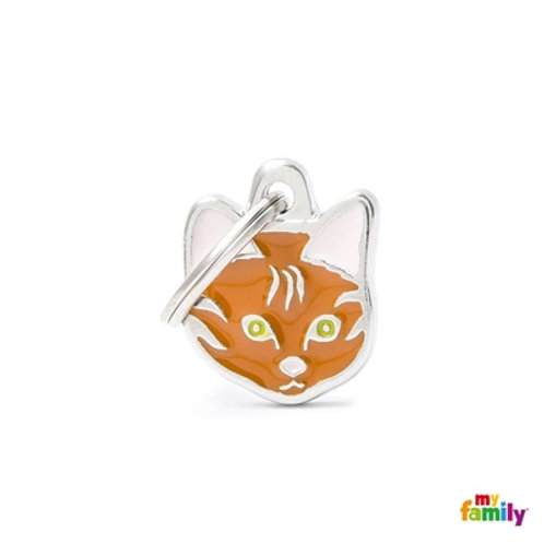 NEW RED EUROPEAN SHORTHAIR CAT ID TAG