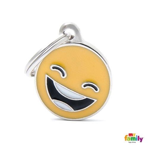 ID TAG EMOTICON SMILE