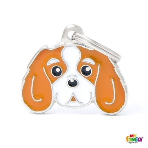 BLENHEIM CAVALIER KING ID DOG TAG