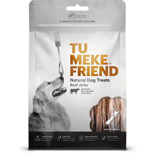 TuMeke Friend 圖米其 Beef Jerky 高級狗小食(牛肉乾)