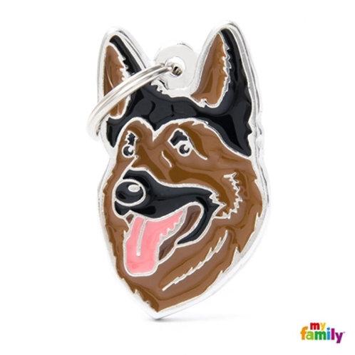 NEW GERMAN SHEPHERD ID DOG TAG