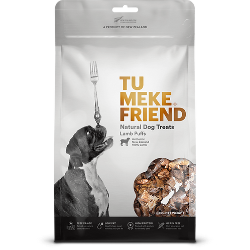 TuMeke Friend 圖米其 Lamb Puffs 高級狗小食(羊肺)
