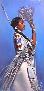 Feather Fan Dancer