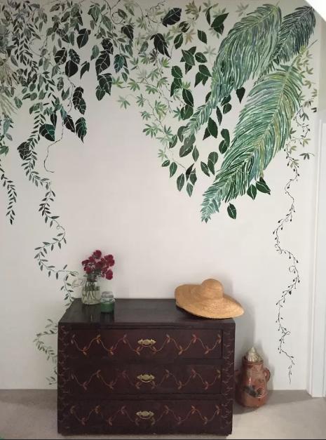 Le Maioliche - parete floreale