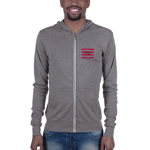 Patriot Wines - revolutionary - Unisex zip hoodie