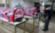 CápsulaXE - aislamiento para pacientes