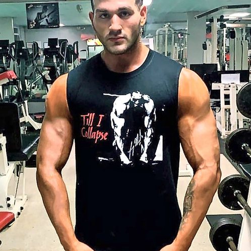 """Till I Collapse"" Adult Sleeveless Tee"