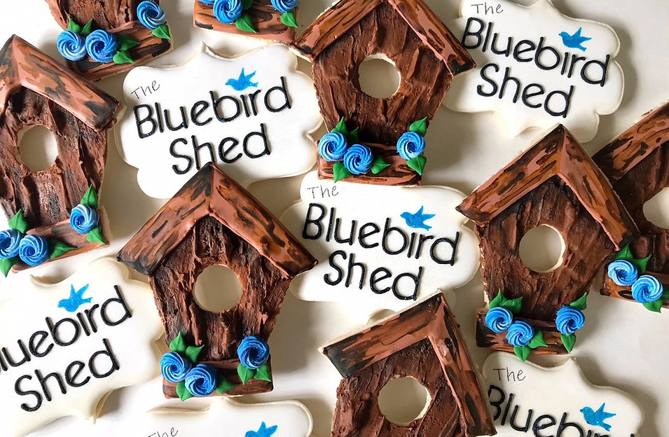 The Bluebird Shed celebrates its 1 year anniversary, August 1st