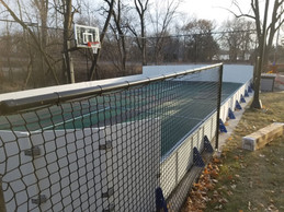 Poly Rink Over Sports Court