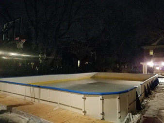 Refrigerated Poly Rink
