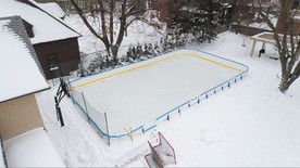 Poly Rink Complete with Ice