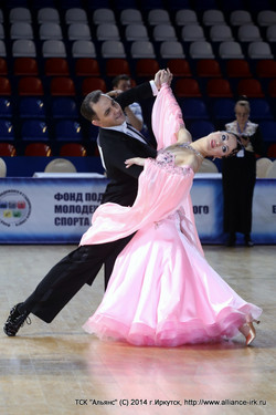 Первенство России Сеньоры 1, Европейская программа танцев, Москва, 30.03.2014-00