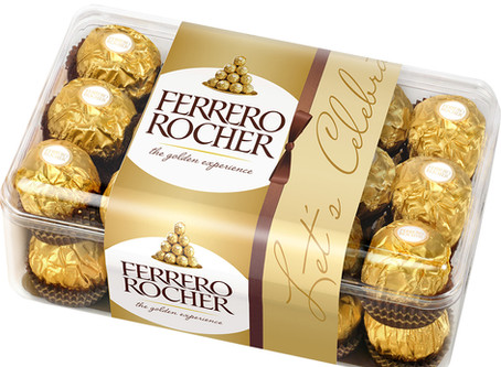 Ferrero Rocher utiliza tecnologia para otimizar cadeia produtiva e reduzir desperdício