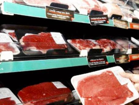 Consumo de carne bovina no Brasil volta ao patamar dos anos 90