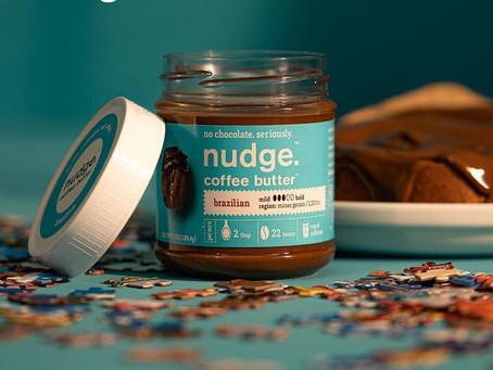 Lançamento da Nudge: não é chocolate, é café comestível