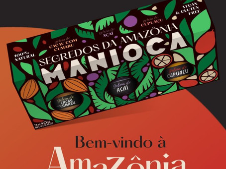 Bem vindo à Amazônia com Manioca
