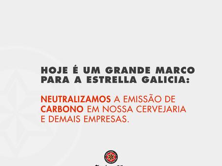 Dona da marca de cerveja Estrella Galicia atinge a meta de zero emissões de carbono