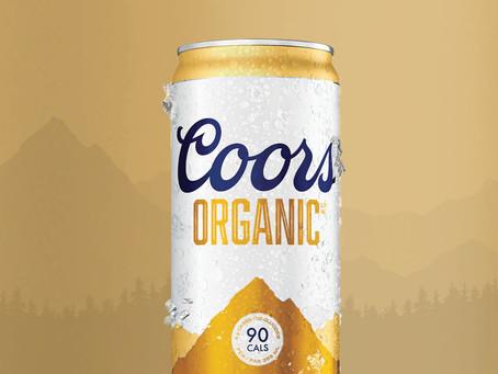 Coors lança cerveja orgânica e de baixa caloria