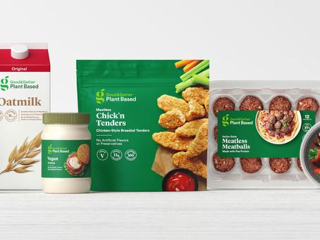 Target lança linha plant based com produtos por menos de cinco dólares