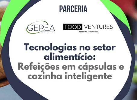 Tecnologias no setor alimentício: refeições em cápsulas e cozinha inteligente