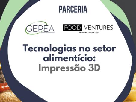 Tecnologias no setor alimentício: impressão 3D