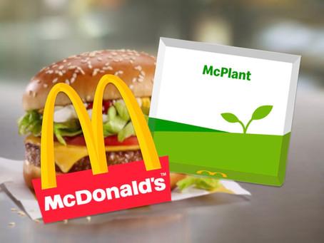McDonald's é uma das últimas a se render ao plant-based