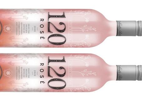 Vinho Rosé 120 Reserva Especial ganha nova embalagem que muda de cor