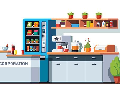 O uso das cozinhas no ambiente de trabalho pós pandemia