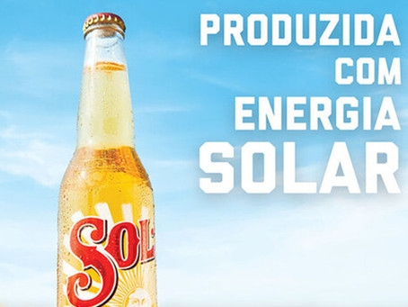 "Cerveja Sol ganha nova assinatura de ""produzida com energia solar"""