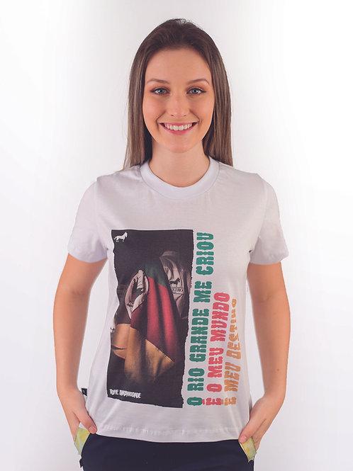 Blusa Feminina O Rio Grande Me Criou