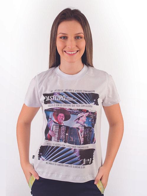 Camiseta Feminina Sentindo