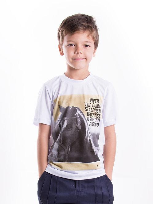 Blusa Masculina Infantil Liberdade