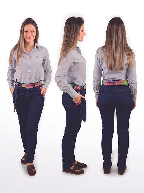 Bombacha Feminina Tie Dye Jeans