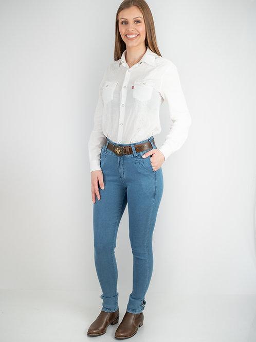 Bombacha Feminina Campeira Jeans