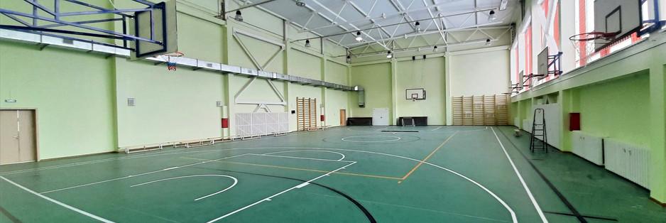 Баскетбольный спортивный зал.