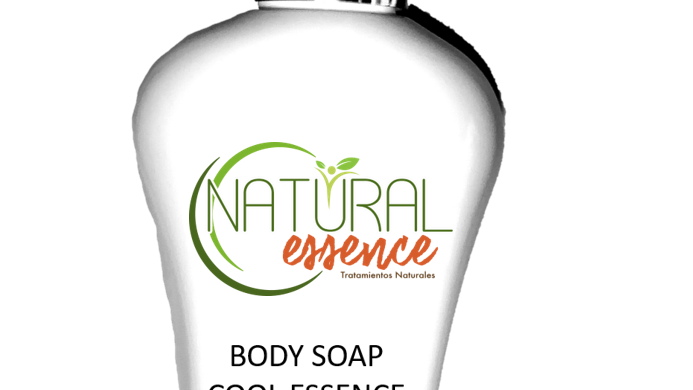 Body Soap Cool - Essence / Jabón Liq. Aloé Humectante Anti acné