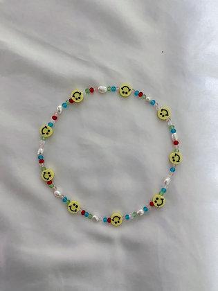 og smiley necklace