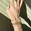 Thumbnail: beaded pearl bracelet