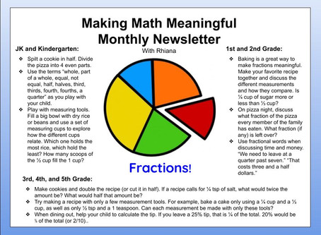 Making Math Meaningful: Fractions