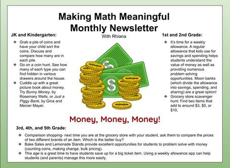Making Math Meaningful: Money
