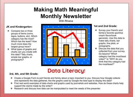 Making Math Meaningful- Data Literacy