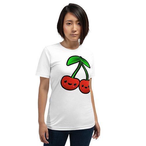 Short-Sleeve Unisex T-Shirt - Cherries